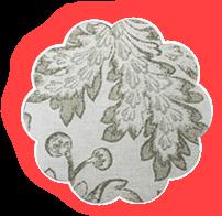 Фартук для грудного кормления Зимние цветы