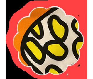 Накидка для грудного кормления Апельсин