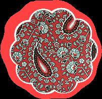 Накидка для грудного кормления Красные светлячки