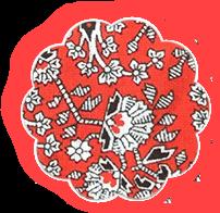 Мешочек для фартука Красные светлячки