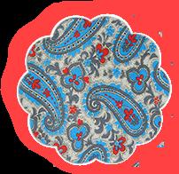 Накидка для грудного кормления Голубые огурцы