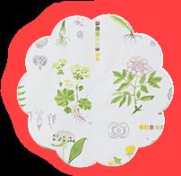 Фартук для грудного кормления Весенний сад
