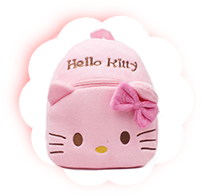 Рюкзак для ребенка Китти розовая